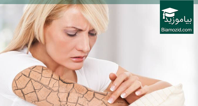 تصویر از درمان خشکی پوست با ۱۲ داروی خانگی