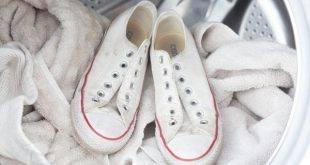 شستن کفش کتانی