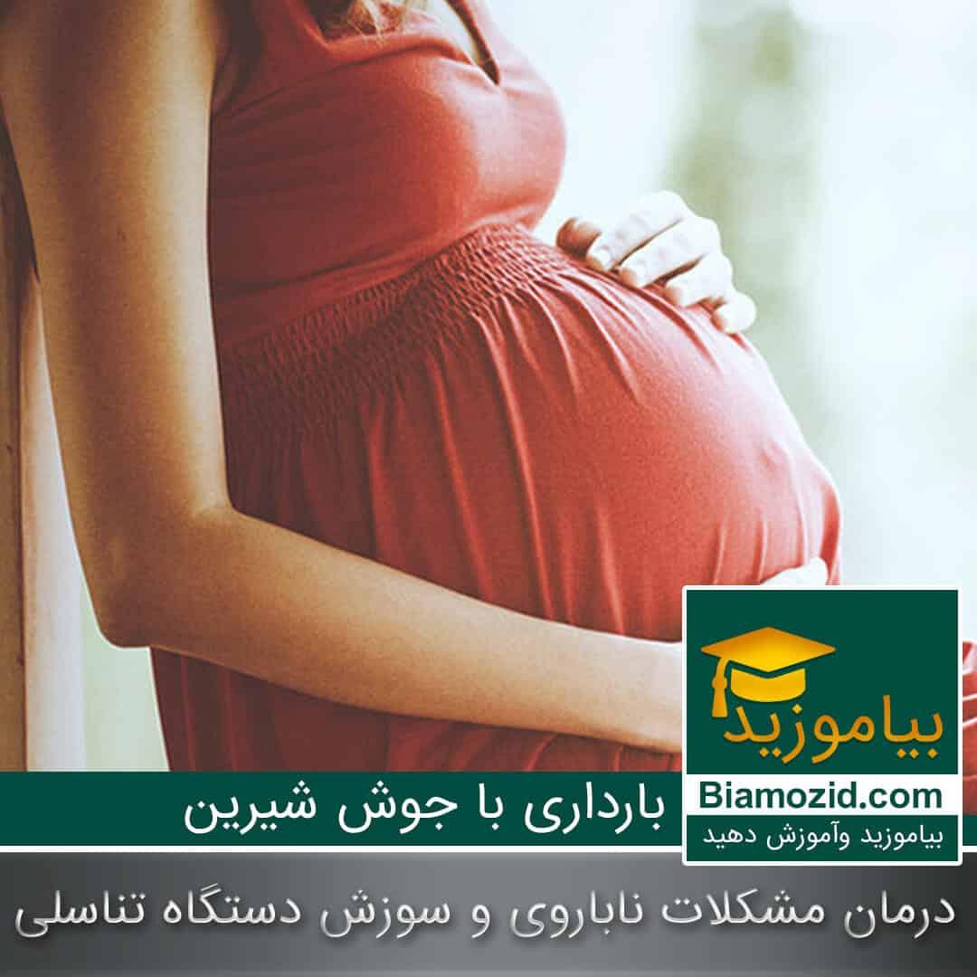 تصویر از چگونه با استفاده از جوش شیرین بارداری  بهتری داشته باشید.